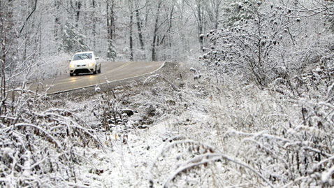 ap tennesee snow nt 111129 wblog Today in Pictures: Nov. 29, 2011