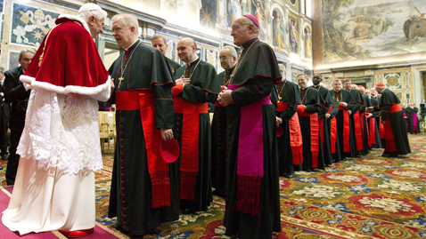 ap vatican pope dm 111222 wblog Today In Pictures: Dec. 22, 2011