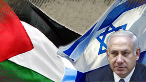 Israeli premier Netanyahu accepts creation of disarmed Palestinian state for the 1st time