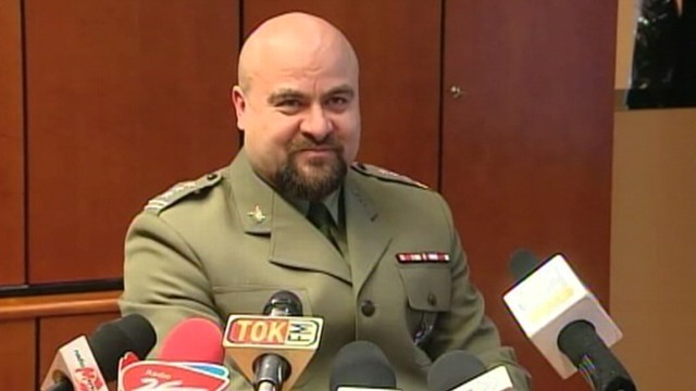 VIDEO: Col. Mikolaj Przybyl shot himself after defending the work of his office.