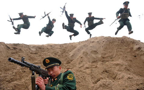cb 01 today pictures nt 121128 blog Today in Pictures: Chinese Anti terrorist Drill, Sikh Holiday and Tibetan Protests