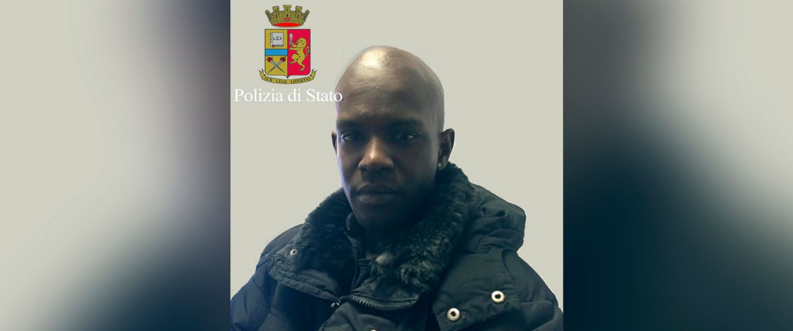 PHOTO: Diaw Cheikh Tidiane is seen in this undated handout image released by Italian Police on Jan. 14, 2016. Tidiane is a suspect in the death of U.S. citizen Ashley Olsen in Florence. Italy.