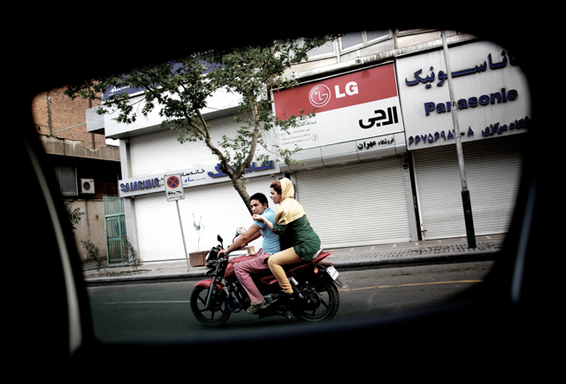 gty 07 tehran car window nt 130605 The Streets of Tehran Seen Through a Car Window