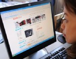 PHOTO: A woman in Beijing shops online at the Taobao website, Feb. 5, 2008.