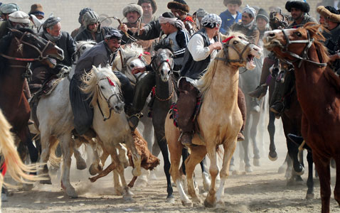 gty afghan sport nt 120323 wblog Today in Pictures: Pope in Mexico, Turkish Riots, Nepals Living Goddess