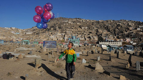 gty afghanistan boy balloon nt 111130 wblog Today in Pictures: Nov. 30, 2011