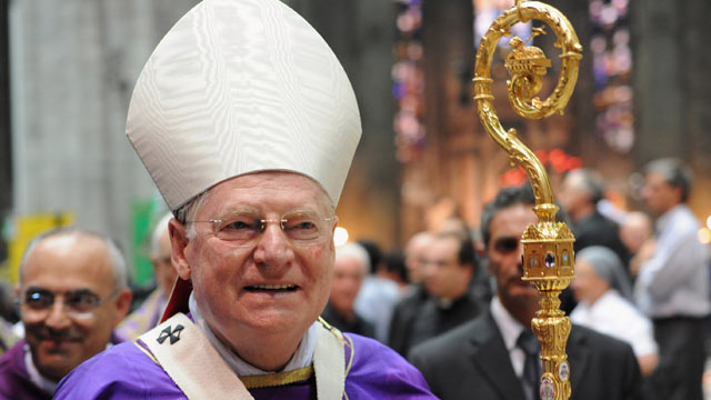 PHOTO: Cardinal Angelo Scola is shown in Milan's Duomo cathedral, Sept. 3, 2012 in Milan, Italy.