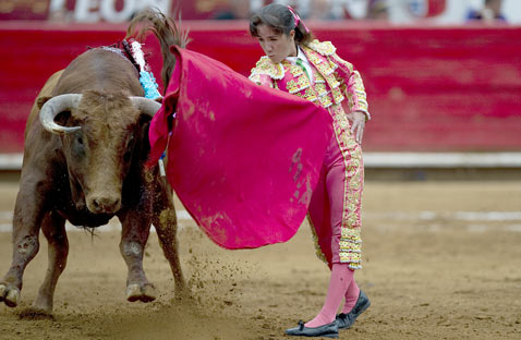 gty bullfighter Hilda tenorio thg 120321 wblog The Season of El Toro