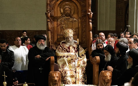 gty coptic pope nt 120319 wblog Today in Pictures: Toulouse School Shooting, Coptic Pope Dies, and Cherry Blossoms