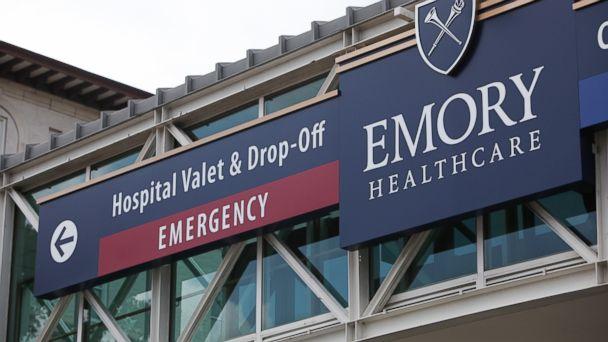 PHOTO: Emory University Hospital is seen on August 1, 2014 in Atlanta, Georgia.