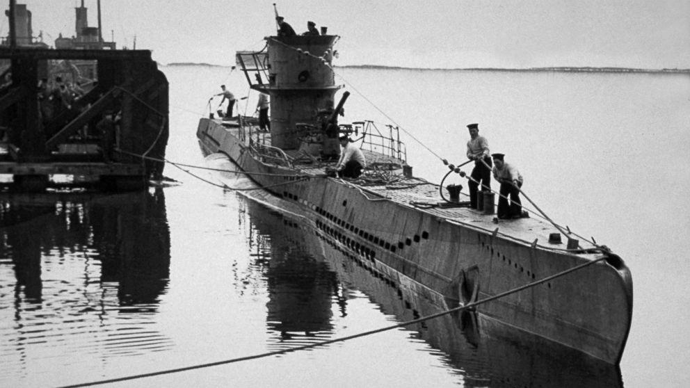 U Boat World War II U-Boat Found With
