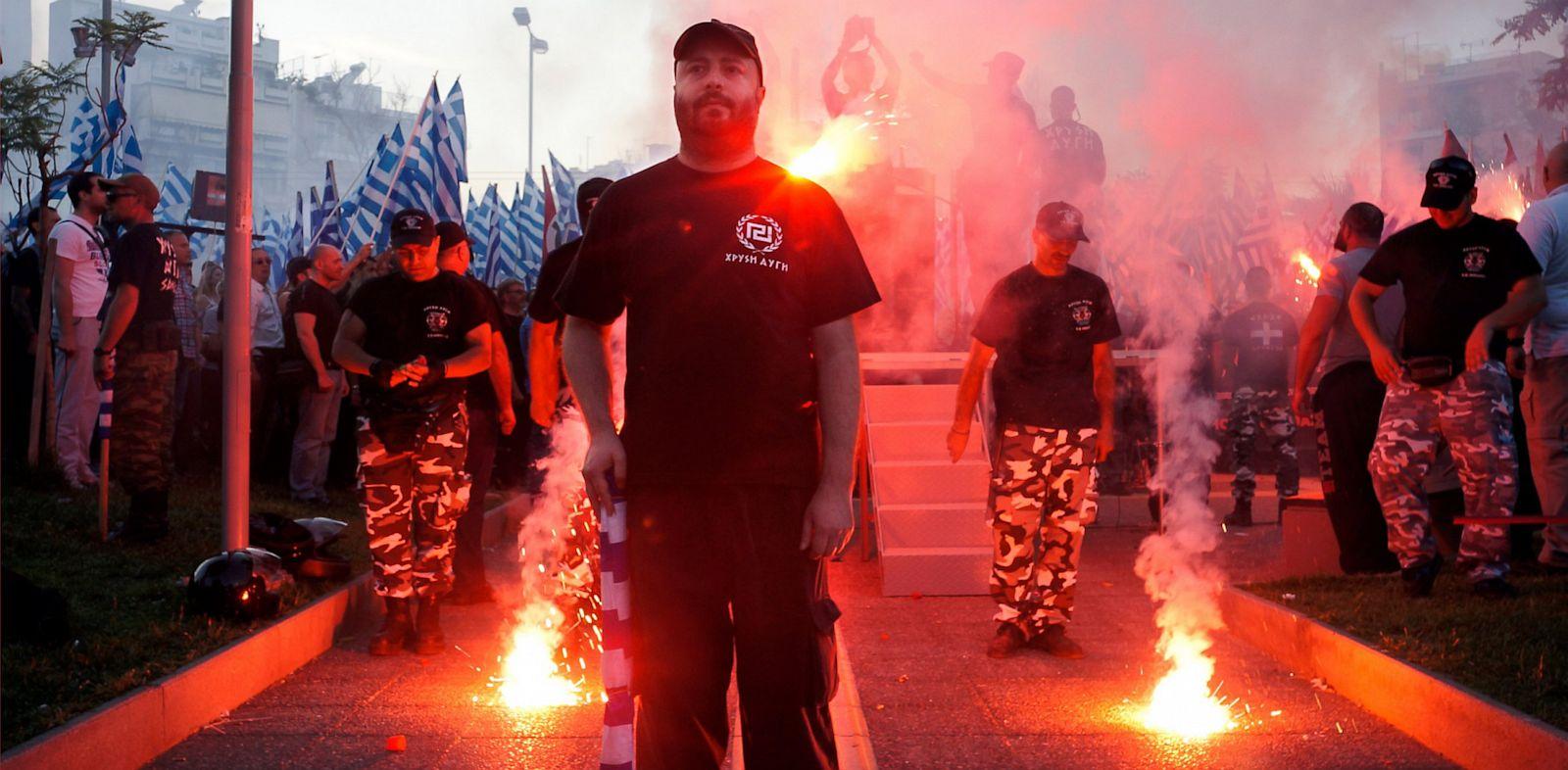 PHOTO: Golden Dawn rally