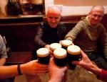 PHOTO: Men in Irish pub