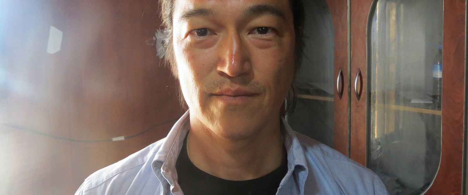 PHOTO: In this file photo dated as April 25, 2014, Japanese journalist Kenji Goto Jogo, captured by Islamic State of Iraq and Levant (ISIL) and one of two Japanese hostages, is seen in Aleppo, Syria.