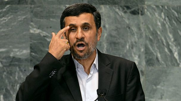 PHOTO: Mahmoud Ahmadinejad