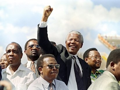 Nelson Mandela Through the Years