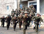 PHOTO: North Korean soldiers
