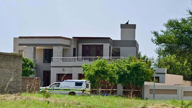 PHOTO: Oscar Pistorius's house at SilverWoods Country Estate, Feb. 14, 2013, in Pretoria, South Africa.