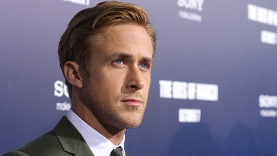 "PHOTO: Ryan Gosling at the premier for ""The Ides of March"", Sept. 27, 2011 in Beverly Hills, California."