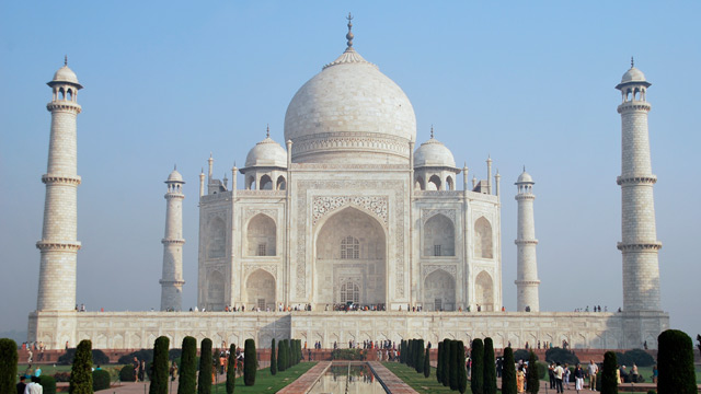 PHOTO: The Taj Mahal, India, is shown.