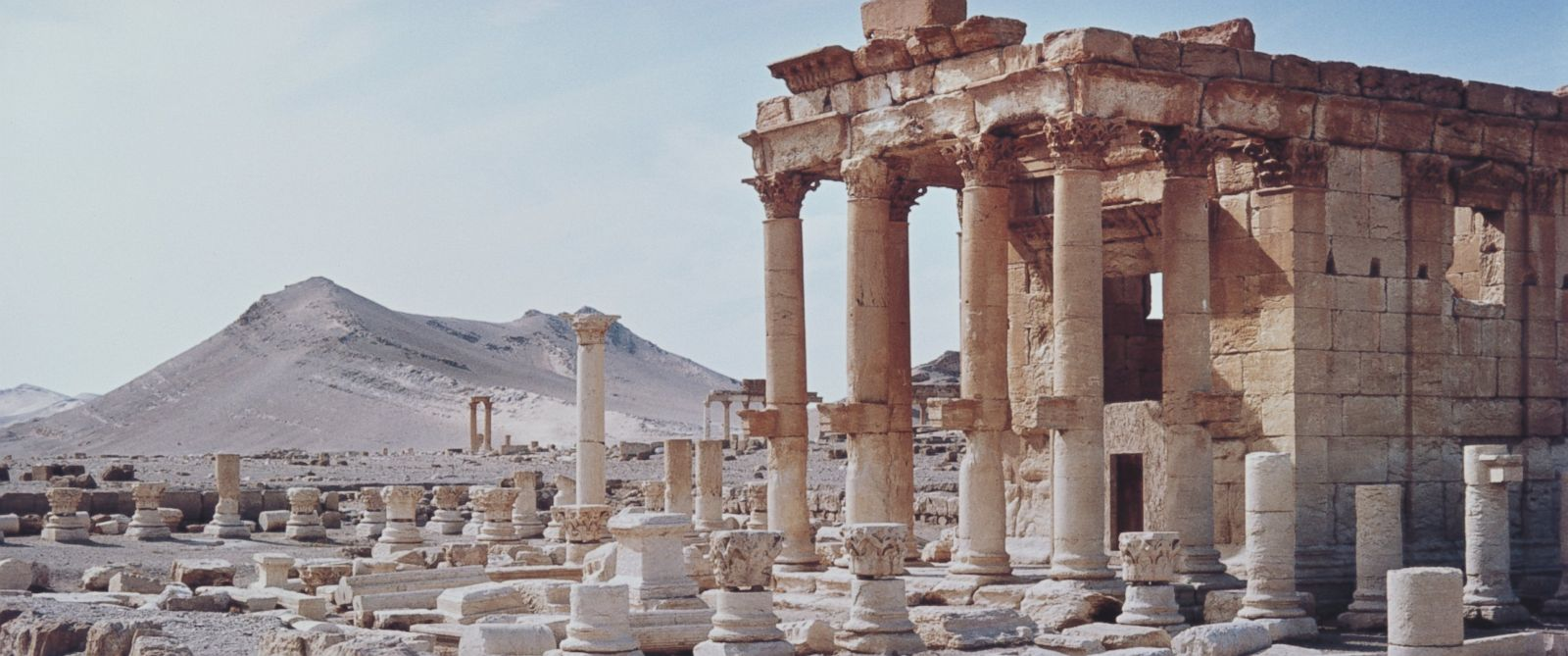 PHOTO: The temple of Baal-Shamin in Palmyra, Syria in an undated photo.