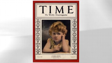 PHOTO: Elizabeth graced the cover of TIME at age 3.