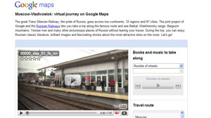 Google launches virtual journey of the Trans-Siberian Express