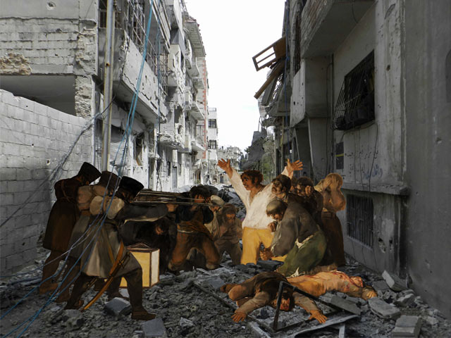 ht Tammam Goyas The 3rd of May 1808 kb 130503 blog Tammam Azzam   The Syrian Museum
