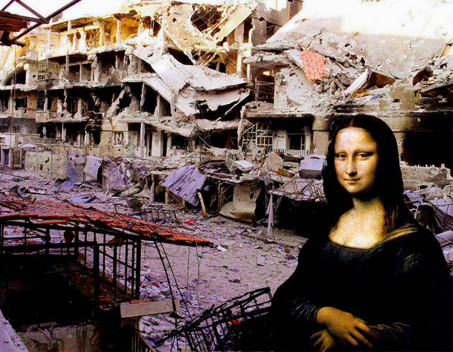 ht Tammam Leonardo da Vincis Mona Lisa kb 130503 blog Tammam Azzam   The Syrian Museum