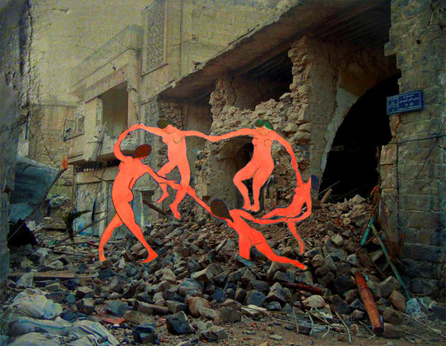 ht Tammam Matisses La Danse kb 130503 blog Tammam Azzam   The Syrian Museum