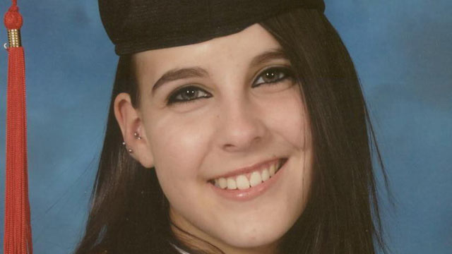 PHOTO: Taylor Van Diest, 18, seen in this undated file photo, was killed on Halloween in Armstrong, British Columbia.