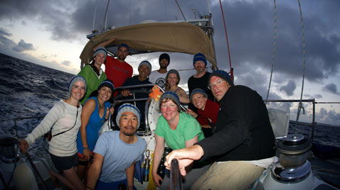 ht algalita crew kb 120710 blog Pacific Voyage Finds a Sea of Floating Tsunami Debris