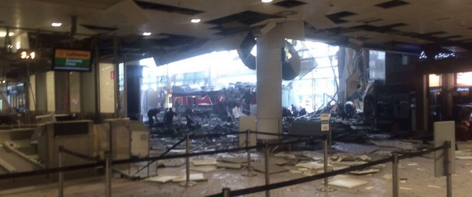 比利时布鲁塞尔机场、地铁连环爆炸致至少28人亡 奥朗德召开紧急会议【高清组图】 - 纽约文摘 - 纽约文摘