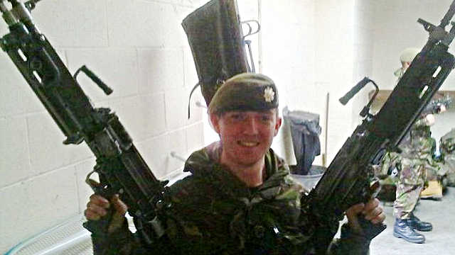 PHOTO: Guardsman Cameron Reilly