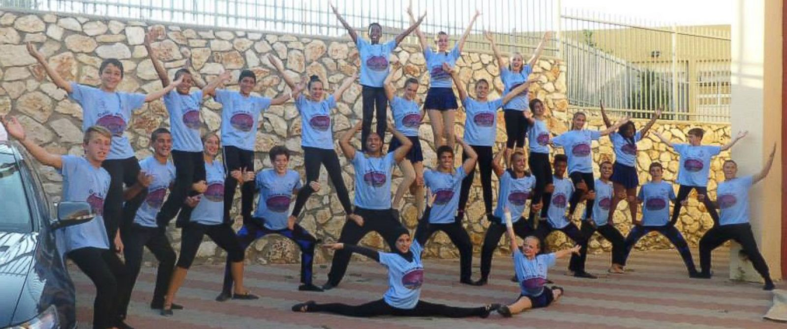 PHOTO: Circus Harmony, a Missouri circus group, has been traveling to Israel since 2007 to work with a youth circus in Galilee that includes both Jewish and Arab children.