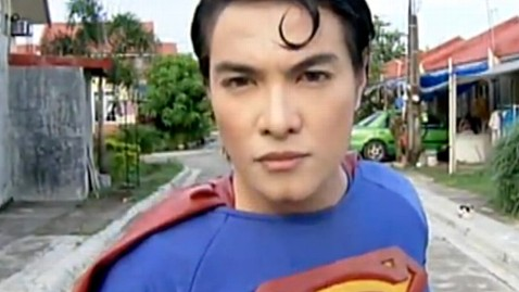 Filipino man undergoes multiple operations to look like Superman