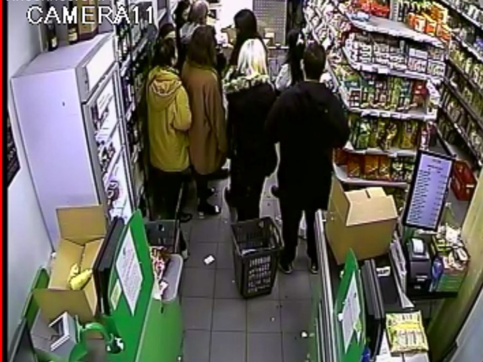 PHOTO: Security footage from the inside of the supermarket where Amedy Coulibaly took hostages on Jan. 9, 2015, Paris, France.