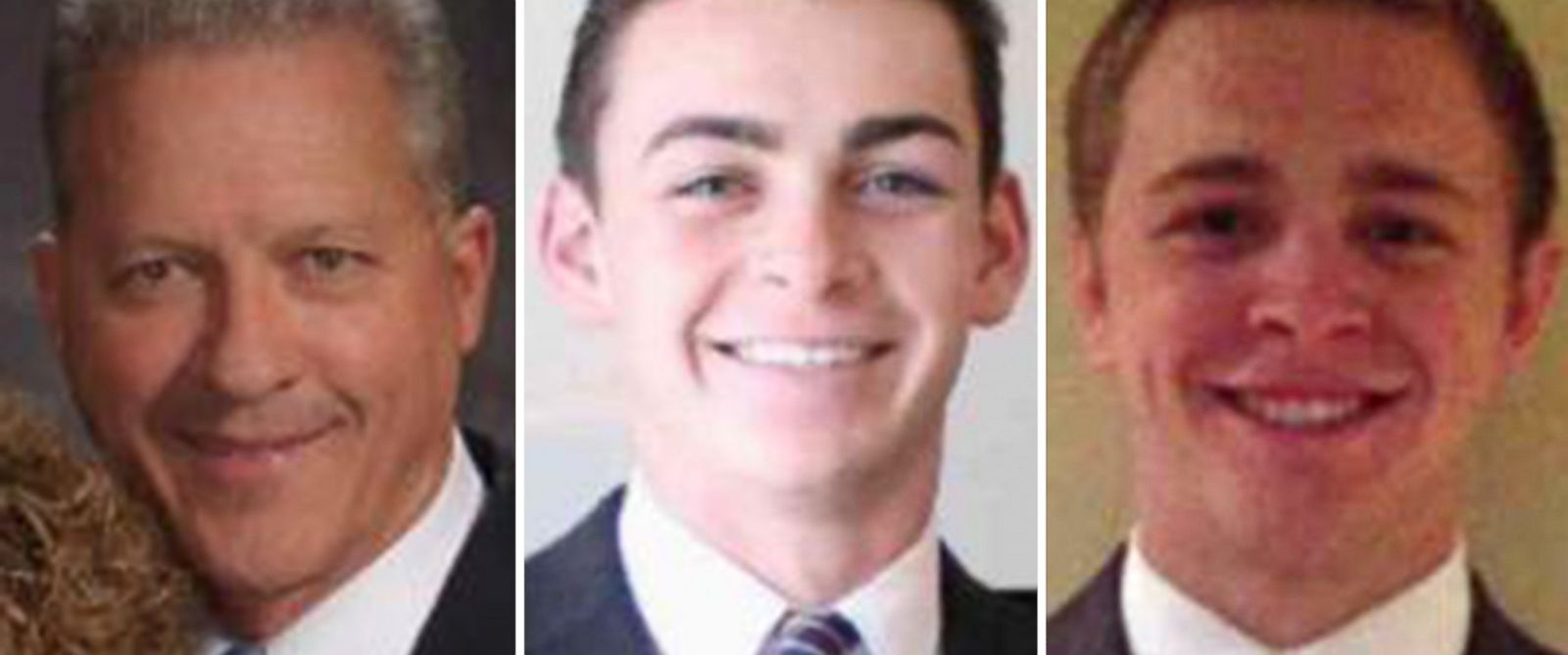 PHOTO: Richard Norby, Joseph Empey and Mason Wells are seen in undated handout photos released by the Church of Jesus Christ of Latter-day Saints on March 22, 2016.