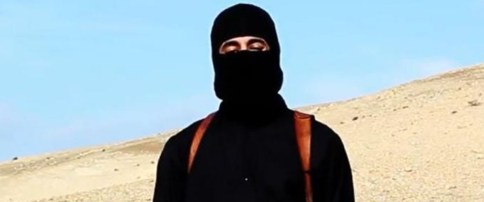 """PHOTO: The man dubbed """"Jihadi John"""" appears in a video released by ISIS on Jan. 19, 2015."""