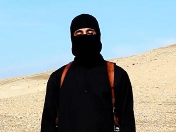 PHOTO: The man dubbed Jihadi John appears in a video released by ISIS on Jan. 19, 2015.
