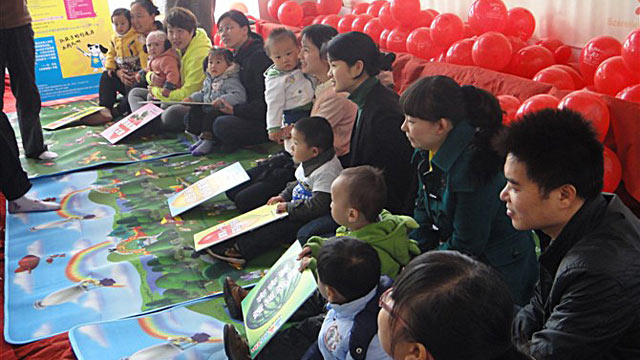 PHOTO: Parents in China are taking their babies to matchmaking events for 1 to 3 year olds.
