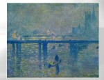 "PHOTO: Claude Monets ""Charing Cross Bridge, London"" was stolen from the Kunsthal Museum in Rotterdam, Netherlands, Oct. 16, 2012."