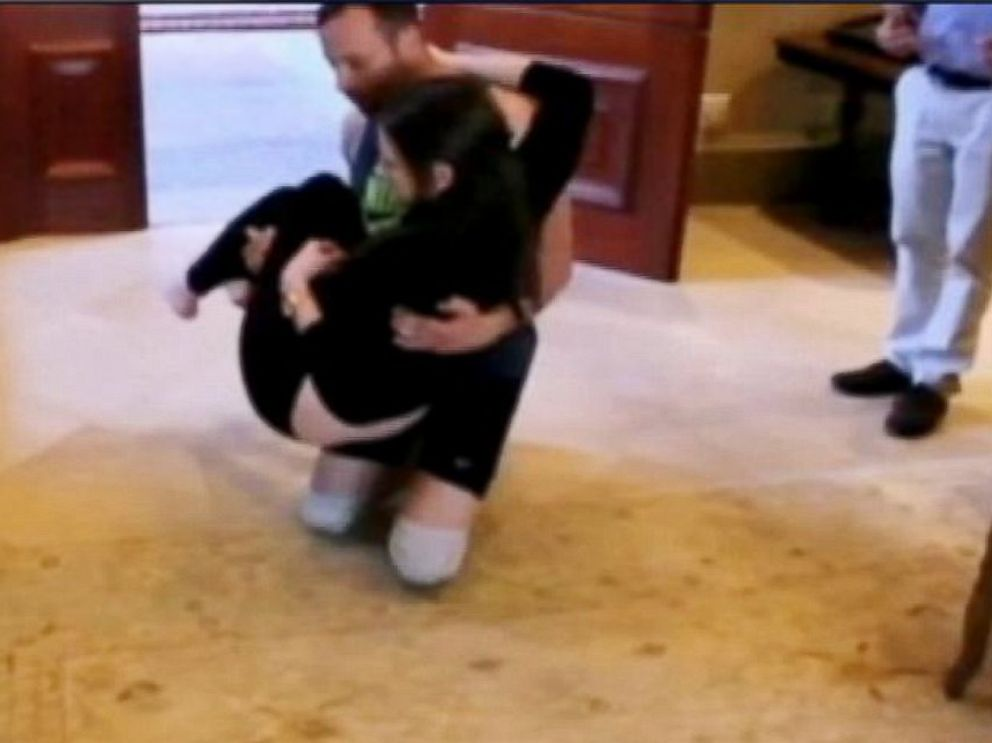 PHOTO: Oscar Pistorius is seen in this undated video released by Australias Channel 7.