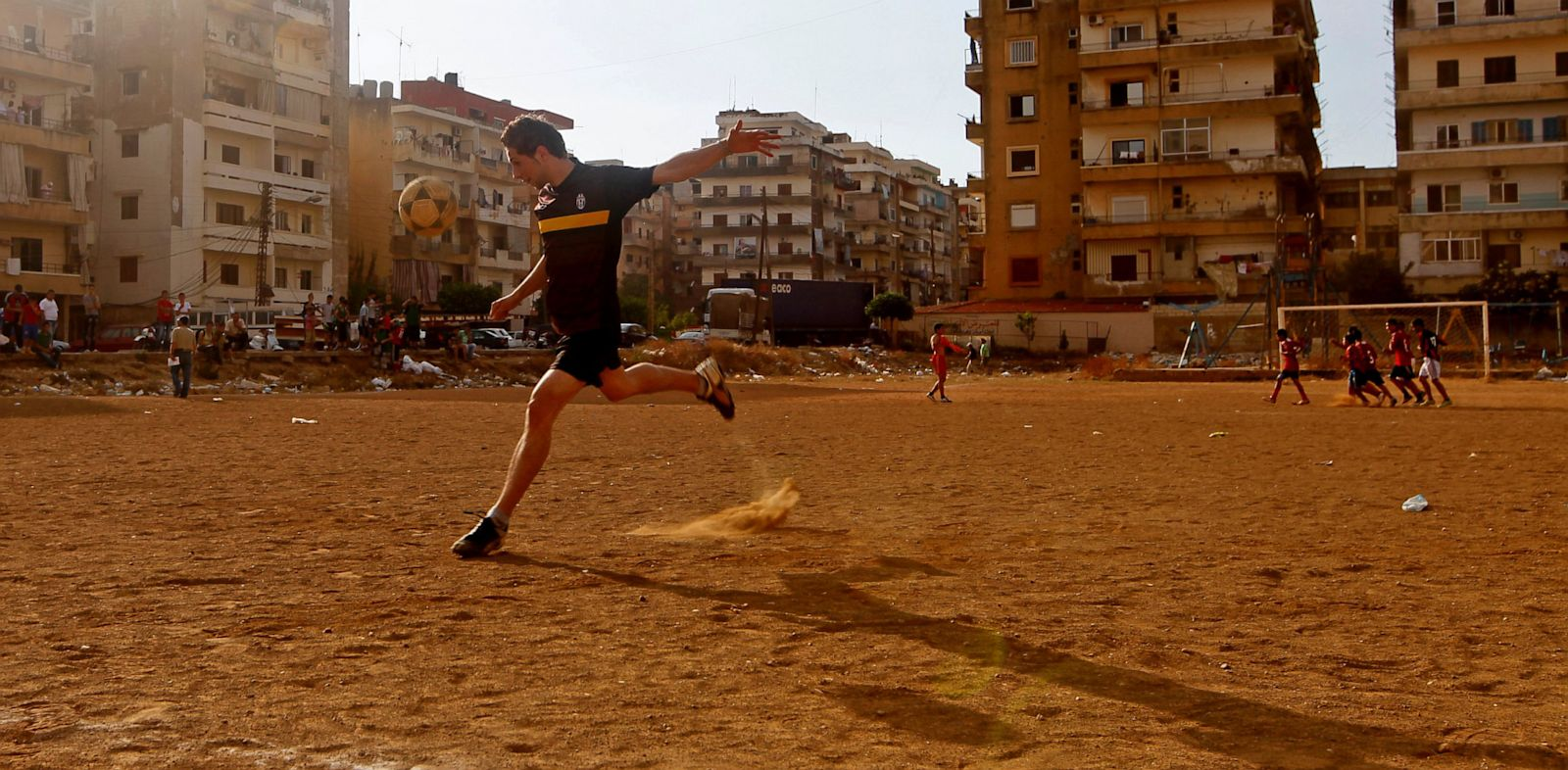 PHOTO: Nour playing soccer