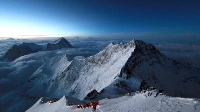 PHOTO: Almost 16 years after surviving the 1996 Everest disaster, climber Neal Beidleman decided to retrace the exact route of the fatal expedition.