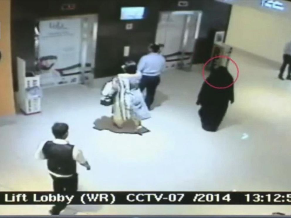 PHOTO: Abu Dhabi police released this surveillance video in the case of an American woman's murder.
