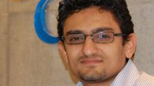 Photo: Google Marketing Manager Wael Ghonim