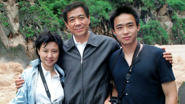 PHOTO: Bogu Kailai, wife of now disgraced Communist Chief of Chongqing city Bo Xilai and their son Bo Guagua. The fall of Bo Xilai is one of the most spectacular political dramas in China since Tienanmen.