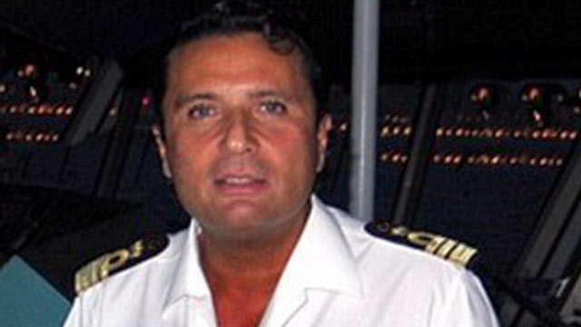 PHOTO: Francesco Schettino the captain of the luxury cruiser Costa Concordia, which ran aground off Italys Tuscan coast, is seen in this undated file photo.