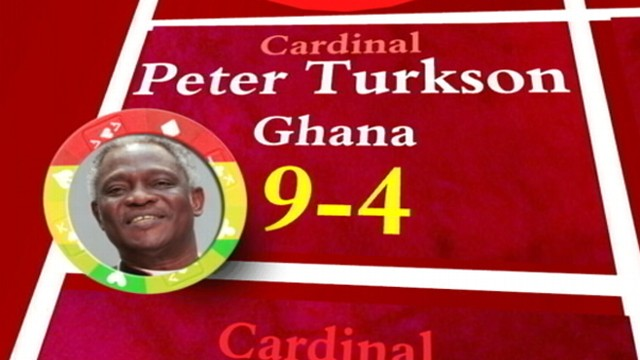VIDEO: Top contenders for the papacy include cardinals from Ghana, Canada and Italy.